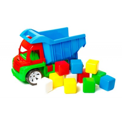 "Вантажівка 088 ""BAMSIK"", ""Алекс"", з кубиками"