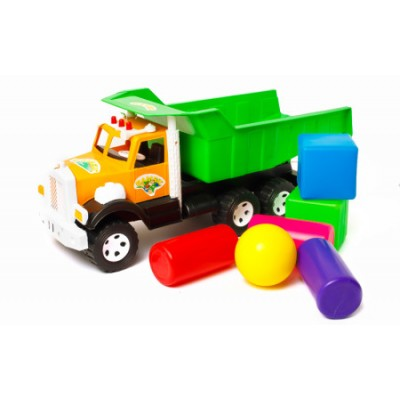 """Вантажівка Бамсик 008-2 """"BAMSIK"""" будівельний"""