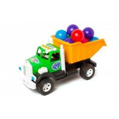 """Вантажівка Бамсик 008/1 """"BAMSIK"""", """"кульки"""""""