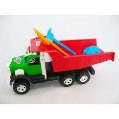 "Вантажівка Фарго 009 ""BAMSIK"", +лопатка+грабли+пасочка"