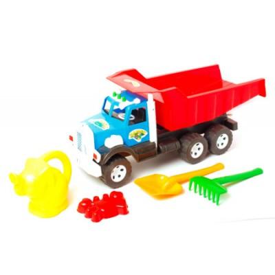 """Вантажівка Фарго 009/6 """"BAMSIK"""", з лійкою слоник"""