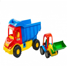 "Вантажiвка 39219 с трактором Multi truck ""Тигрес"""