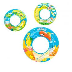 Круг 36013 (36шт) Рибки, 56 см, 3 вида