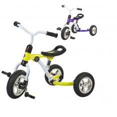 Велосипед M 3207-2 (2шт)три кол.EVA (10/8),с аморт.,швидкозн.кол.,2 цвета: фiолетовий,зелений
