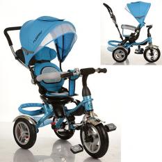 Велосипед M 3114-5A (1шт/ящ) три кол.резіна (12/10), колясоч.поворот, своб.ход колеса, гальмо, підшипників, голу¶