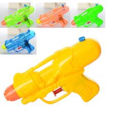 Водяний пистолет M 3076 (120шт) размір маленький, 13.5см, 2 види, микс кольорів, в кульці,11.5-18-3cм