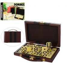 Доміно B3896W (96шт) в чемодані, в кор-ці, 16-11-3см