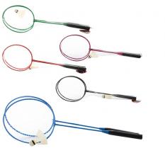 Бадминтін железний MS 0755 (50шт) ракетки 2шт, волан, 5 кольори, в сетці, 64,5-20,5-4,5см