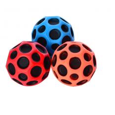 Мяч детячий MS 0410 (96шт) 6,5см, резина, 3 кольори, 12шт в кульці, 20-27-6,5см