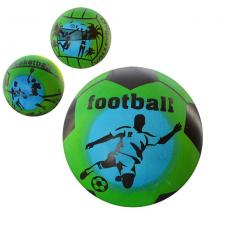 Мяч детячий MS 0921 (250шт) 5 дюймів, радуга, ПВХ, 45г, 3 види
