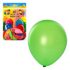 Кульки надувні MK 0012 мікс кольорів