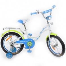 Велосипед дитячий PROF1 14д. G1424 (1шт/ящ) Butterfly, білий
