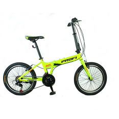 ¶Велосипед 20 д. G20RIDE A20.2 (1шт / ящ), зелений