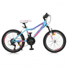 Велосипед 20 д. GW20CARE A20.2 (1шт/ящ) блакитний
