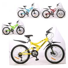Велосипед 20 д. M2009MIX (4 шт / ящ) МІКС кольорів