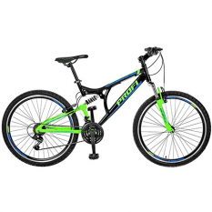 Велосипед 26 д.GW26LASTING A26.1 (1шт / ящ) чорно-зелений