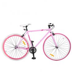Велосипед 28д. FIX26C701-2 (1шт / ящ) рожевий