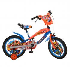 Велосипед PROFI RACING дитячий 16д. SX 16-01 - R синьо-помаранчевий