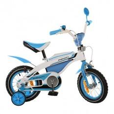 Велосипед PROFI дитячий 12д.12 BX 405-1 (1шт/ящ) біло-блакитний