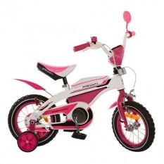 Велосипед PROFI дитячий 12д. 12BX405-2 (1шт/ящ) біло-рожевий