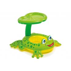 Плотик 56584sh (12шт) жаба, з навісом, 119-79 см