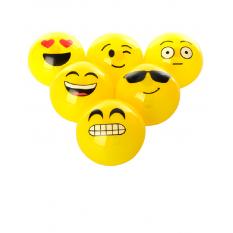 М'яч дитячий MS 0027 (72шт) 80мм, TPU, світло, 6 видів, в кульку, 24-16-8см