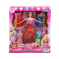 Кукла с нарядом 6618D