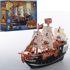 Набір Піратів М 0512 R/U(36шт.) в кор-ке, 29-23-10см