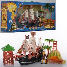Набір Піратів М 0513 R/U(18шт.) в кор-ке, 48-23-12см