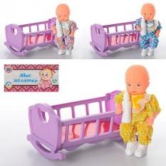 HU Ліжечко 729 V гойдалка, з лялькою і пляшечкою