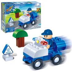 Конструктор BANBAO 9605 Поліцейський транспорт