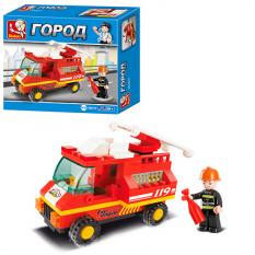 Конструктор SLUBAN M 38 B 0173 Пожежна машина