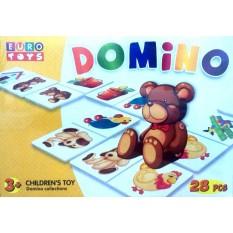 """Доміно 30090  """"EUROTOYS"""" """"MARINE LIFE"""", 28 елементів"""
