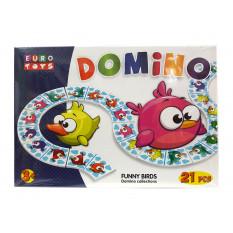 """Доміно фігурне 30168 """"EUROTOYS"""" """"FUNNY MONSTERS"""""""