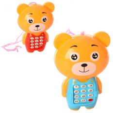 Телефон 188 у вигляді ведмедика, в кульку