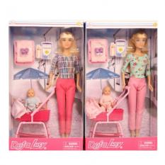 Лялька DEFA 8358-BF в коробці