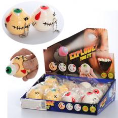 Іграшка MS 1466 (1уп / 12шт) антистрес, монстр з оком 5 см, 12 шт (2 кольорів) в дисплеї, 24-17-6 см