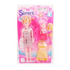 Лялька з нарядом 8168-1 на аркуші