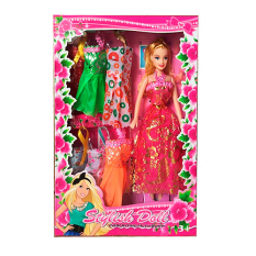 Лялька з нарядом 259-3 в коробці