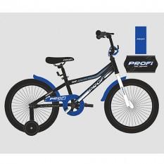 Велосипед дитячий PROF1 12д. Y12101 (1шт / ящ) Top Grade, чорний (мат.)