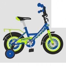 Велосипед дитячий PROF1 14д. Y1441 (1шт / ящ) Original boy, синій