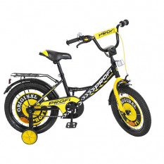 Велосипед дитячий PROF1 14д. Y1443 (1шт/ящ) Original boy, чорний