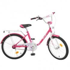 Велосипед дитячий PROF1 20д. L2082 (1шт / ящ) Flower, малиновий