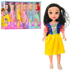 Лялька 958 (1уп/6шт) DP, 24 шт, в коробці, 6 шт (6 видів) в дисплеї, 49-27,5-5,5 см