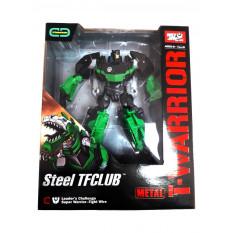 Трансформер J 8018 B (18шт) метал, робот + дракон, 18см, в коробці, 22-27-10см