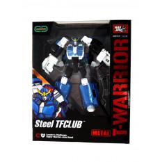 Трансформер J 8018 C (18шт) метал, робот + машинка, 18см, зброю, в коробці, 22-27-10см