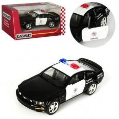 Машинка KT 5091 WP (24шт) KINSMART метал, інер-я, поліція, 12см, 1: 38, рез.колеса, откр.двері, в кор-ке