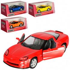 Машинка KT 5320 W KINSMART метал, інер-я, 12,5 см, 1:36, відкриваються двері, гумові колеса, 4 кольори, в кор-ке