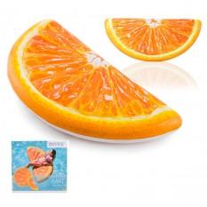 ¶Матрац 58763 (6 шт) Часточка апельсина, 178-85см, ремкомплект, в кор-ке