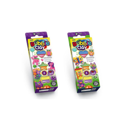 """Пластилін кульковий BBC-01-01-02 """"Bubble Clay"""""""